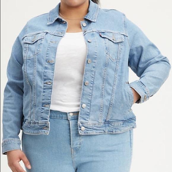Levi's original trucker jean jacket 2X